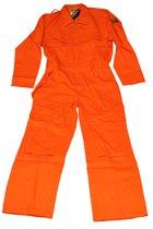 Overall vlamvertragend antistatisch Trent oranje maat 62