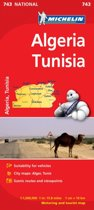 Algeria, Tunisia - Michelin National Map 743
