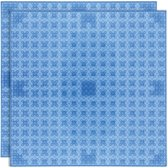 Strictly BRIKS LBP322TTB Bouwplaat 32x32 Transparant Blauw Duopak
