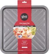 Wham Cook Essentials Bakplaat - Non Stick - Vierkant - Met Chevrons