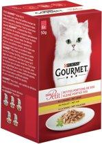 Gourmet Mon Petit - Gevogelte - Kattenvoer - 6 x 50 g