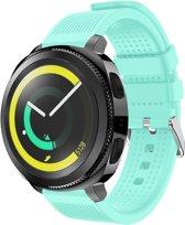Siliconen Horloge Band Voor Samsung Gear Sport - Armband / Polsband / Strap Bandje / Sportband Watchband - Wit