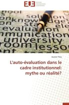L'Auto-�valuation Dans Le Cadre Institutionnel