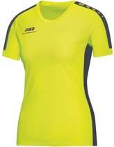 Jako - T-Shirt Striker - lime/antraciet - Maat 42 - 44