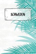 Schweden: Punktiertes Reisetagebuch Notizbuch oder Reise Notizheft Gepunktet - Reisen Journal f�r M�nner und Frauen mit Punkten