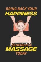 Bring Back Your Happiness Schedule A Massage Today