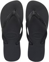 Havaianas Top Slippers Unisex - Black