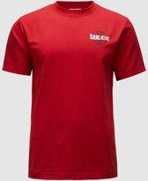 Banlieue Pattern T-shirt Rood