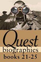 Quest Biographies Bundle — Books 21–25
