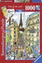 Ravensburger puzzel Fleroux Paris 1000 stukjes