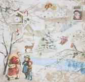 Servetten Winter Wonderland
