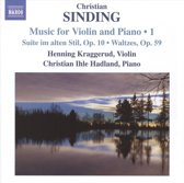Sinding: Music For Violin Vol.1