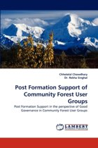 Post Formation Support of Community Forest User Groups