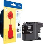 LC-121 inktcartridge zwart standard capacity 300 pagina's 1-pack blister zonder alarm