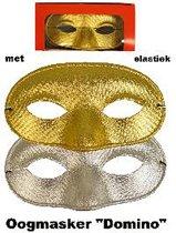 Oogmasker met elastiekje  Goud