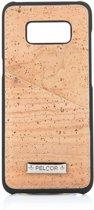Pelcor Backcover Met Pasjeshouder Samsung Galaxy S8 - Bruin/Zwart