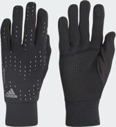 adidas Run Gloves Sporthandschoenen - Black/Black/Silver Met. - Maat L