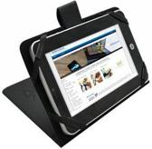 Tablet Cover voor de Archos 101 G10 Xs, Betaalbare stoere Hoes, Zwart, merk i12Cover