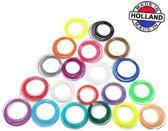 3D pen filament pakket 20 kleuren PLA/ABS - 100 me