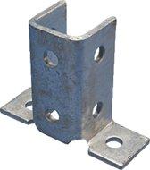 ERIC hoekverbinder montagerail ERISTRUT\xae, staal, (lxb) 140x102mm