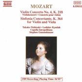 Mozart: Violin Concerto no 4, Sinfonia Concertante