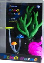 Superfish Fluo Coral 21x14x6.5 cm Groen
