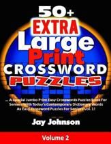 50+ Extra Large Print Crossword Puzzles