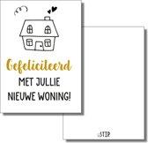 bijStip kaart Gefeliciteerd nieuwe woning samenwonen