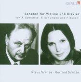 Sonaten Fur Violine Und Klavier