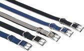 Nobby halsband zwart 55-65 x 2,5 cm - 1 st