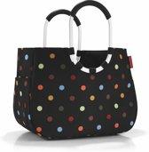Reisenthel Loopshopper L Boodschappentas - Shopper - Maat L - Polyester - 25L - Dots Zwart