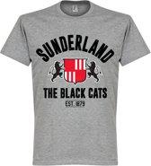 Sunderland Established T-Shirt - Grijs - XL