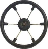Teleflex Leader Tanegum 6-spaaks zwart Stuurwiel Ø 41cm