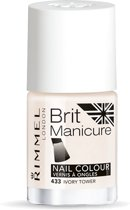 Rimmel Brit Manicure - 433 Ivory Tower - French Manicure