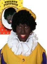 Piet pruik zwart
