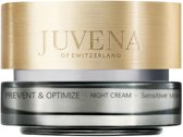 MULTI BUNDEL 2 stuks Juvena Prevent And Optimize Night Cream Sensitive Skin 50ml