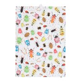 by Sorcia - theedoek Big Insects - 50x70cm - katoen - designed in Holland