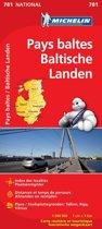 Michelin wegenkaart 781 Baltische landen