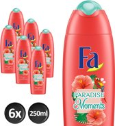 Fa Douchegel Paradise Moments - 6 x 250ml