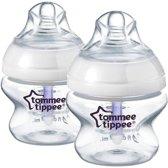 Tommee Tippee Closer to Nature Geavanceerd Comfort 150 ml x 2 Flessen 0m +