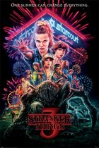 Hole In The Wall Stranger Things - summer of 85 poster