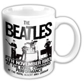 The Beatles - Prince of Wales Theatre - Bedrukte Mok Beker