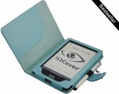 Kobo Glo e-Reader · Hoes Case Cover met sleep functie, blauw , merk i12Cover