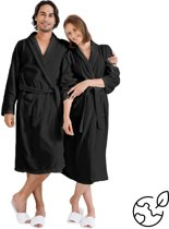 Nightlife Fresh Sauna Unisex Badjas - Zwart - S/M