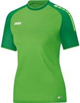 Jako Champ Dames T-Shirt - Voetbalshirts  - groen licht - 42