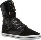 Le Coq Sportif - Dames Sneakers Voya Mid Plus - Zwart - Maat 41