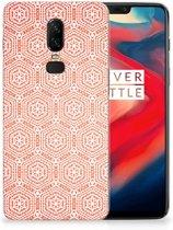 OnePlus 6 TPU bumper Pattern Orange