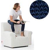 Milos meubelhoezen - Fauteuilhoes - Blauw - Verkrijgbaar in verschillende kleuren!