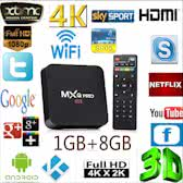 MXQ Pro Android TV Box