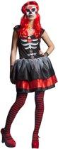 Day of the Dead Jurk Maat L/XL - Verkleedkleding - Carnavalskleding